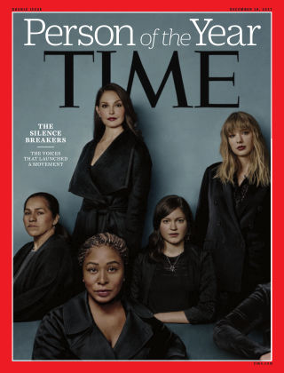 Time Magazine Europe December 18th, 2017