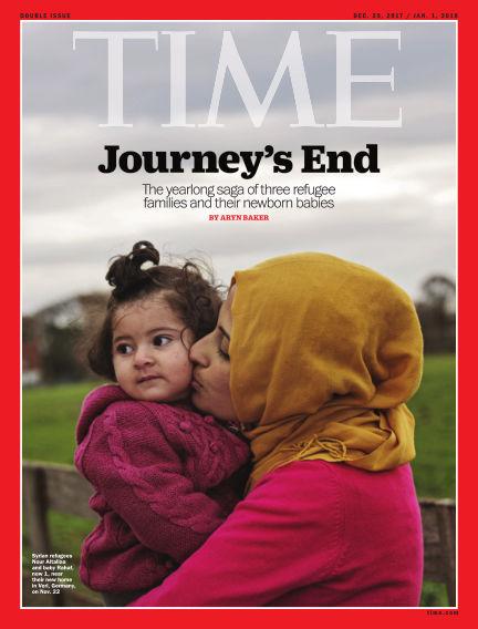 Time Magazine Europe December 23, 2017 00:00