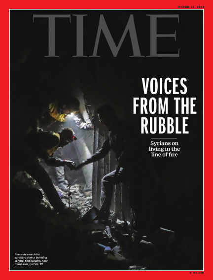 Time Magazine Europe March 03, 2018 00:00
