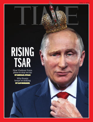 Time Magazine Europe April 2nd, 2018