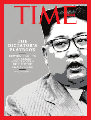 Time Magazine Europe April 9th, 2018