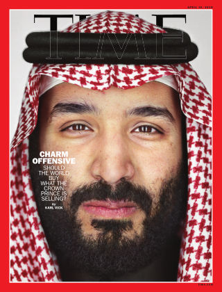 Time Magazine Europe April 16th 2018