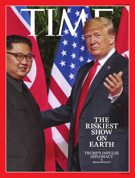 Time Magazine Europe June 16, 2018 00:00