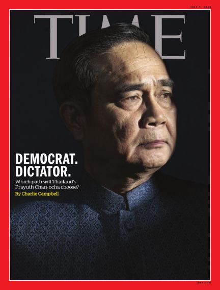 Time Magazine Europe June 23, 2018 00:00
