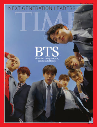 Time Magazine Europe October 22nd, 2018