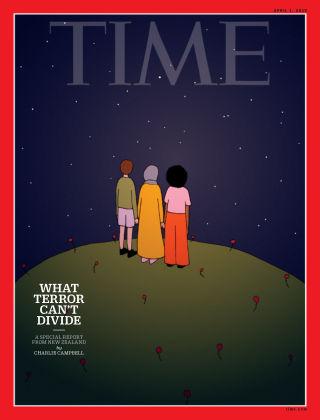 Time Magazine Europe April 1st, 2019