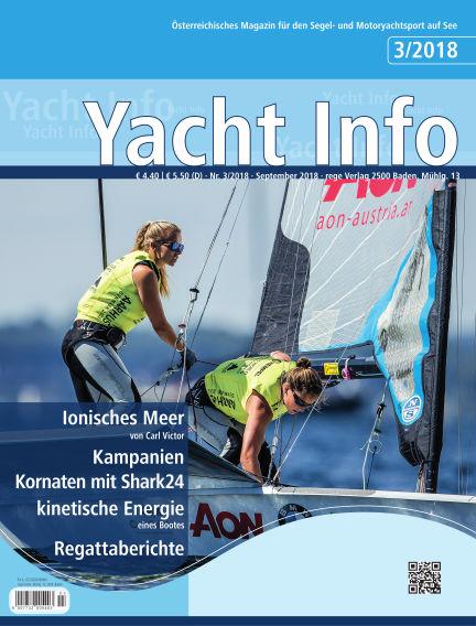 Yacht Info September 01, 2018 00:00