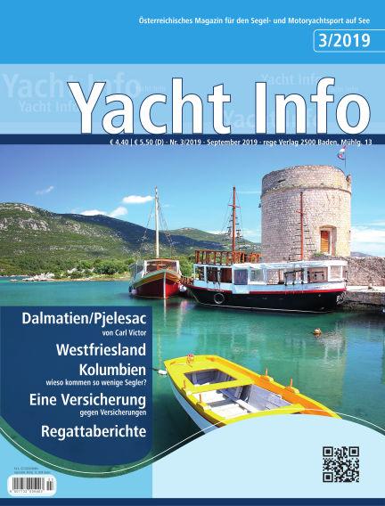 Yacht Info September 04, 2019 00:00