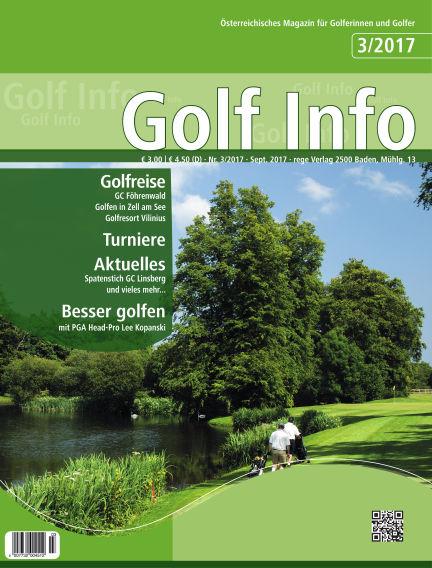 Golf Info September 16, 2017 00:00