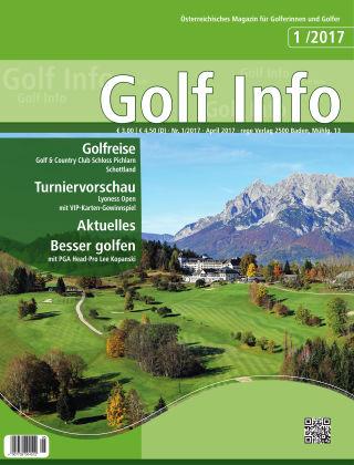 Golf Info 1/2017