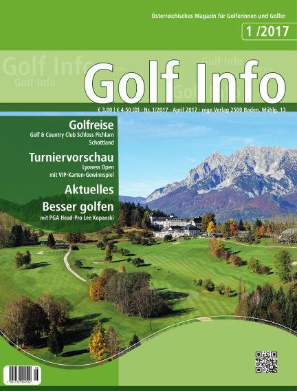 Golf Info April 15, 2017 00:00