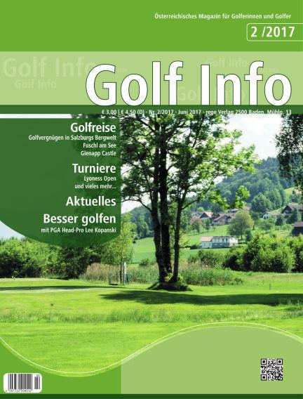 Golf Info June 20, 2017 00:00
