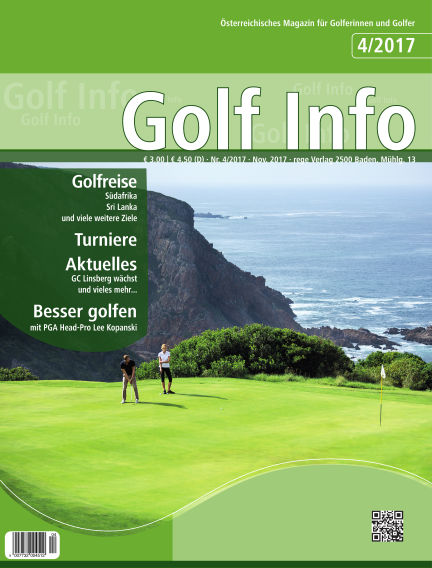 Golf Info November 11, 2017 00:00