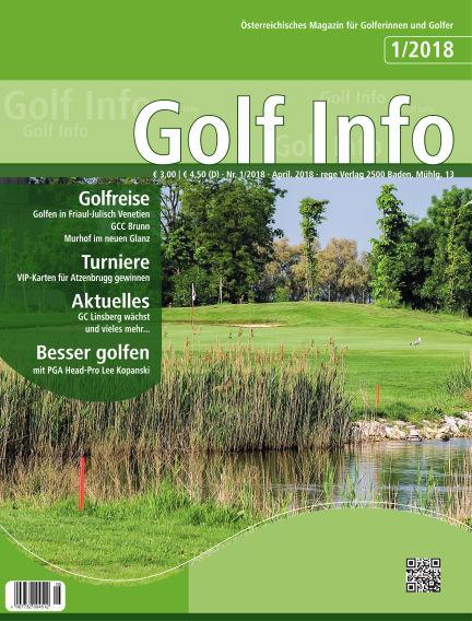 Golf Info April 20, 2018 00:00