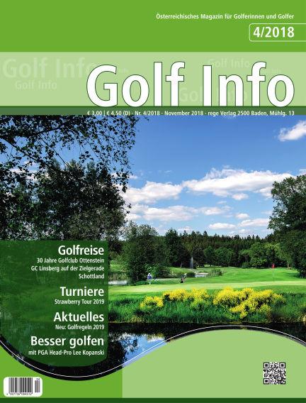 Golf Info November 17, 2018 00:00