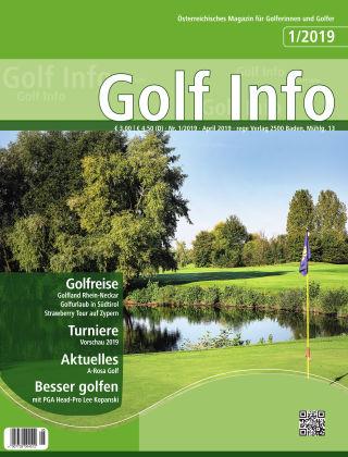 Golf Info 1/2019