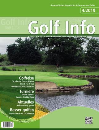 Golf Info 4/2019