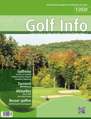 Golf Info 1/2020