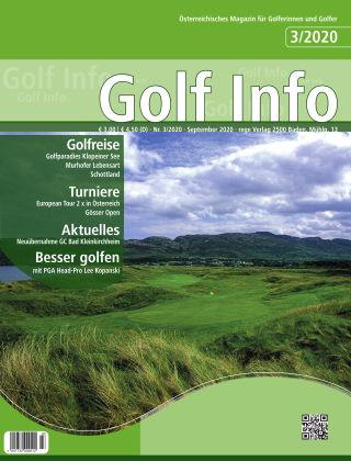 Golf Info 3/2020