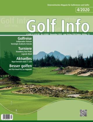 Golf Info 4/2020