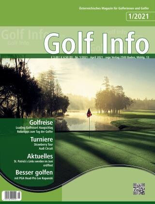 Golf Info 1/2021