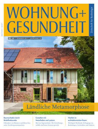 WOHNUNG + GESUNDHEIT (eingestellt) 163 / Juni 2017