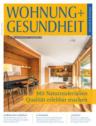 WOHNUNG + GESUNDHEIT (eingestellt) 162 / März 2017