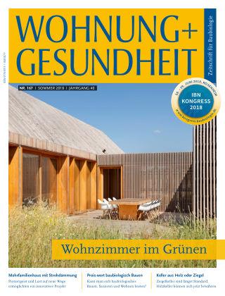 WOHNUNG + GESUNDHEIT (eingestellt) 167 / Juni 2018