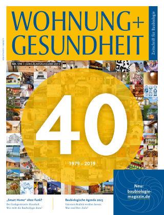 WOHNUNG + GESUNDHEIT (eingestellt) 170 / März 2019