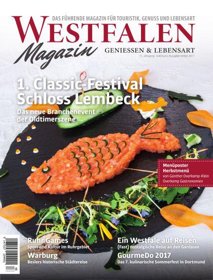 WESTFALEN Magazin (eingestellt) October 07, 2017 00:00