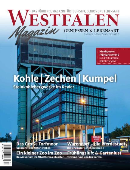 WESTFALEN Magazin (eingestellt) March 15, 2019 00:00