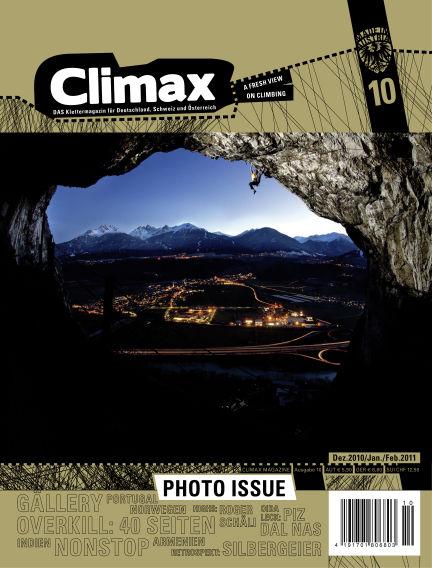 Climax December 01, 2010 00:00