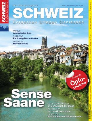 SCHWEIZ Das Wandermagazin 9-10/2017