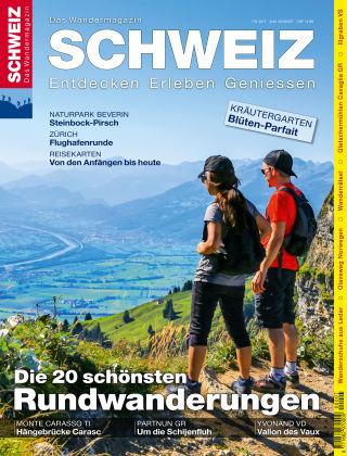 SCHWEIZ Das Wandermagazin 7-8/2017
