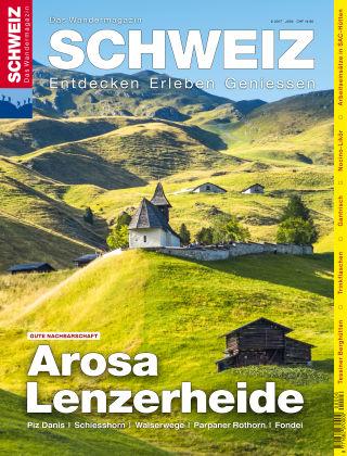 SCHWEIZ Das Wandermagazin 06/2017
