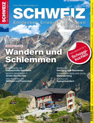 SCHWEIZ Das Wandermagazin 05/2017