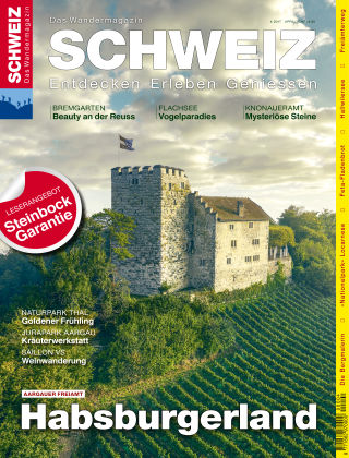 SCHWEIZ Das Wandermagazin 04/2017
