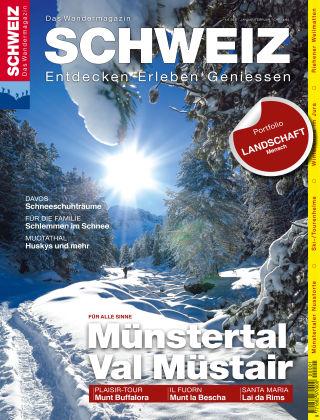SCHWEIZ Das Wandermagazin 01_02/2017