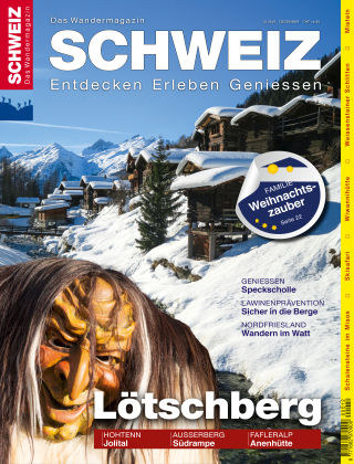 SCHWEIZ Das Wandermagazin 12/2016