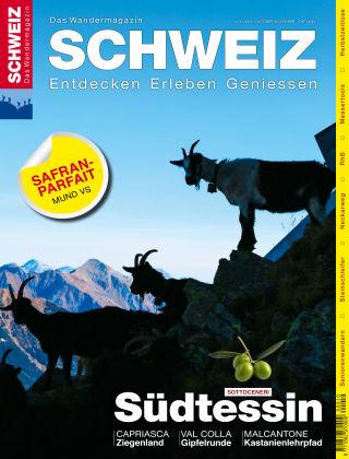 SCHWEIZ Das Wandermagazin 10-11/2016