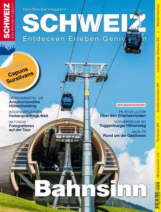 SCHWEIZ Das Wandermagazin 08/2016