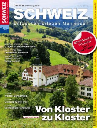 SCHWEIZ Das Wandermagazin 07/2016