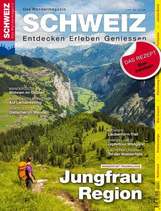SCHWEIZ Das Wandermagazin 06/2016