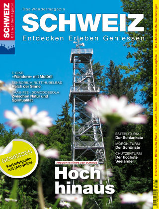 SCHWEIZ Das Wandermagazin 05/2016