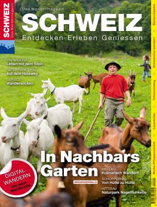SCHWEIZ Das Wandermagazin 04/2016