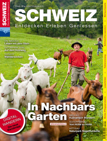 Wandermagazin SCHWEIZ April 01, 2016 00:00