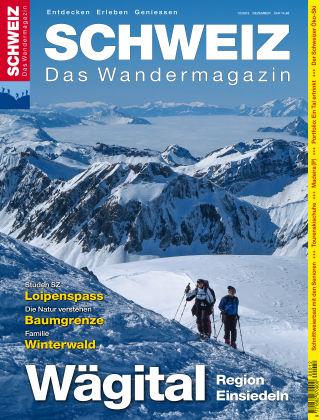SCHWEIZ Das Wandermagazin 12/2015