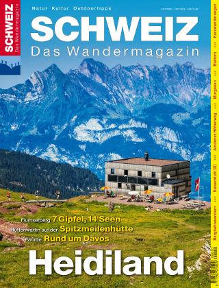 SCHWEIZ Das Wandermagazin 10_11/2015