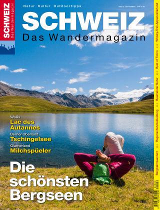 SCHWEIZ Das Wandermagazin 09/2015