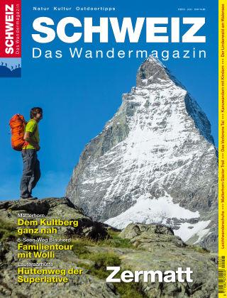 SCHWEIZ Das Wandermagazin 07/2015